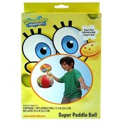 "Spongebob 12"" Paddle 8""  Inflatable Ball"