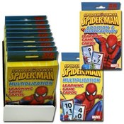 Spiderman Flashcards 2 Titles Math Cards