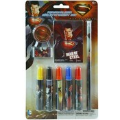 9pc Superman Stationery School Set Wholesale Bulk