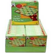 "Elmo 6.5""X5.5""X1.5"" Boxed Checkers"
