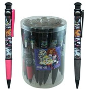 10.2 Inch Monster High Jumbo Writing Pen in Display Wholesale Bulk