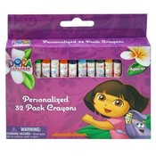 Nickelodeon Dora the Explorer 32pc Crayons in Box Wholesale Bulk