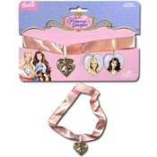 Barbie Choker W / Locket On Card