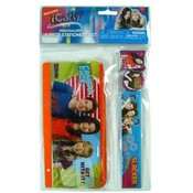 Icarly 4Pc Stationery Set In Pvc Bag Wholesale Bulk
