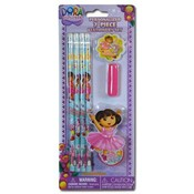 Nickelodeon Dora the Explorer 7pc Stationery Wholesale Bulk
