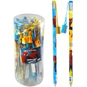 Spiderman 15' Jumbo Pencil W/ Sharpener in Display Wholesale Bulk