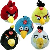 Angry Birds 8 Inch Plush Bird Assorted With Sound