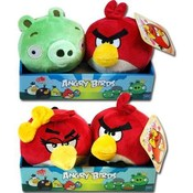 Angry Birds 2 Pack 4 Inch Plush Bird Doll
