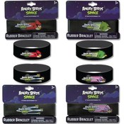 Angry Birds Space Printed Rubber Bracelets 8 X 1