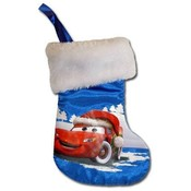 "Cars 8"" Mini Satin Christmas Stocking"