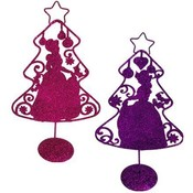Princess 10' Metal Christmas Tree Wholesale Bulk