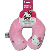 Hello Kitty Plush Neck Pillow Rest Embroidery