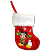"Mickey 8"" Mini Satin Christmas Stocking"
