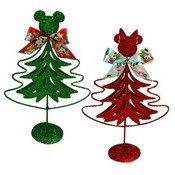 Mickey & Minnie 8' Metal Christmas Tree Wholesale Bulk