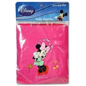 Disney Minnie Mouse Kids Rain Poncho 10.5x6.75x.50