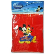 Disney Mickey Kids Rain Poncho 10.5&quot; x 6.75&quot; x .50