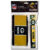 Nfl, Packers 4Pc Stationery Set Wholesale Bulk