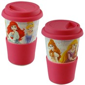 Princess Porcelain Travel Mug 10 oz. Wholesale Bulk
