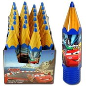 Cars 2 Pencil Shaped Plastic Case With