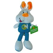 White Bunnie Rabbit Sock Animal 11 Inch Plush