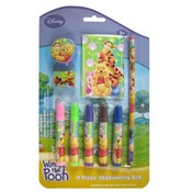 Pooh & Friends 9Pc Stationery Set Wholesale Bulk