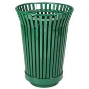 Trash Receptacle And Dome Top-River City Series