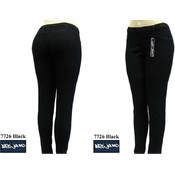 Junior Denim Leggings- Black