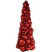 2' Red Ornament Tree Wholesale Bulk