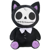 Furrybones Black Mao-Mao Plush