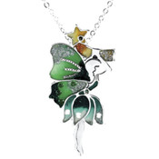 Green Fairy Pendant