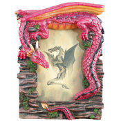 "3"" x 5"" Red Dragon Picture Frame"