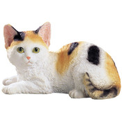 Cat (British Shorthair) Figurine