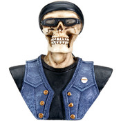 Collectible- Biker Skeleton