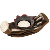 Meditation Hands Votive Holder