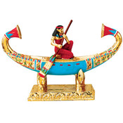 Crossing The Nile Figurine