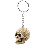 Tribal Skull Key Chain (Set Of 12)