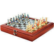 Small Chess Box w/Hinge