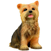 Yorkshire Terrier Puppy Figurine