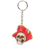 Pirate Hat Key Chain (Pack Of 12)