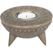 African Cooking Vessel Votive Candle Holder