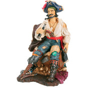 Cap&#39;n Isaac Blackbeard Figurine