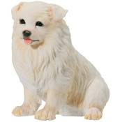 Samoyed Puppy Figurine