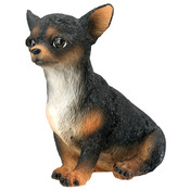 Chihuahua Puppy (Black) Figurine