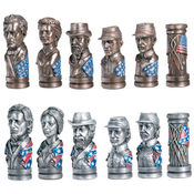 Chess Set - Civil War Bust