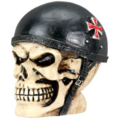 Collectible- Small Biker Skull