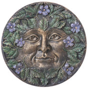 Greenman Plaque - Spring