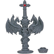 Dragon Cross Candleholder