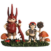 Brownie Boys Figurine