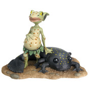 Toadie & Pollywog Figurine
