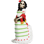 Figurine - Day of the Dead White Senorita